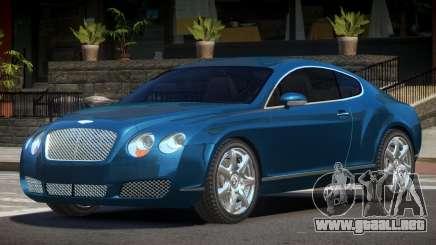 Bentley Continental GT S-Tuned para GTA 4