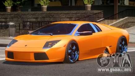 Lamborghini Murcielago NYS para GTA 4