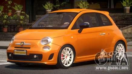 Fiat 500 S-Tuned para GTA 4