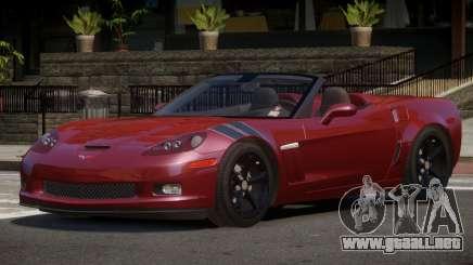 Chevrolet Corvette SR para GTA 4