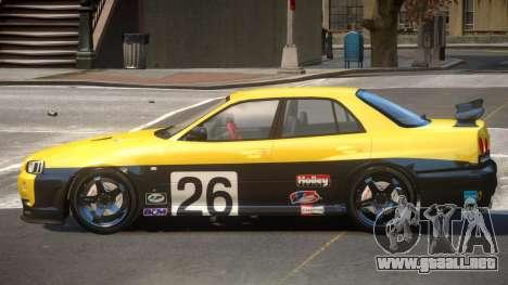 Nissan Skyline R34 D-Style PJ4 para GTA 4