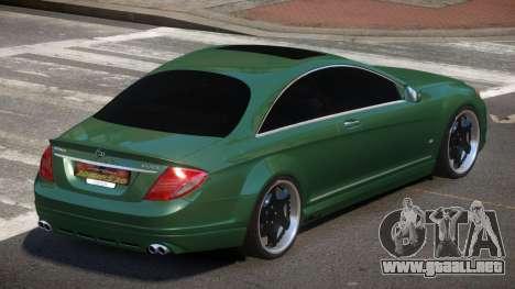 Mercedes Benz CL65 B-Style para GTA 4