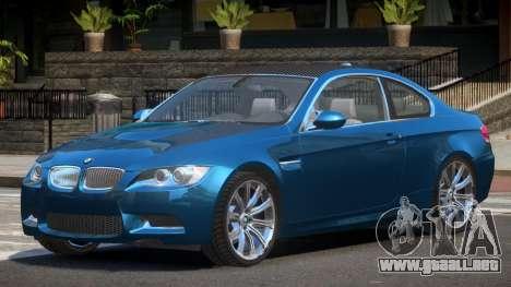 BMW M3 E92 MR para GTA 4