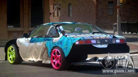 Nissan Silvia S14 D-Style PJ para GTA 4