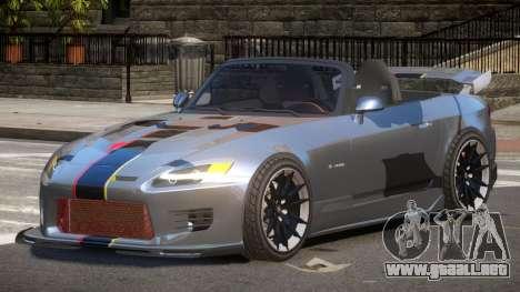 Honda S2000 D-Style PJ2 para GTA 4