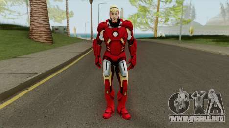 Iron Man Mark 7 (Unmasked) para GTA San Andreas