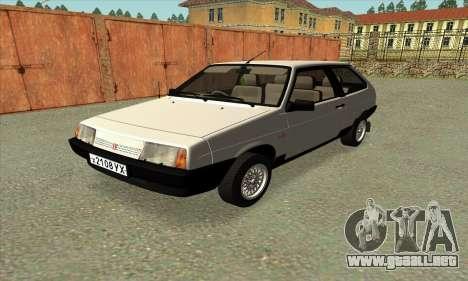 VAZ 2108 Czechoslovakia export ver.0.3 para GTA San Andreas