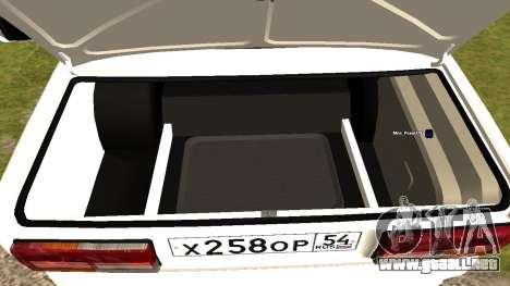 VAZ 2107 de Optimización Kolkhoz para GTA San Andreas