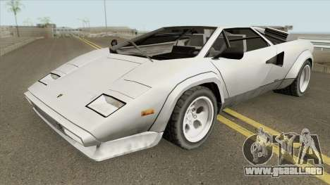 Lamborghini Countach LP400S 1978 para GTA San Andreas