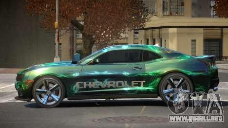 Chevrolet Camaro STI PJ5 para GTA 4