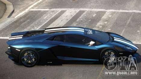 Lamborghini Aventador JRV PJ3 para GTA 4