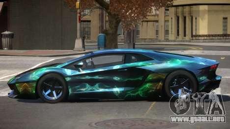 Lamborghini Aventador S-Style PJ5 para GTA 4
