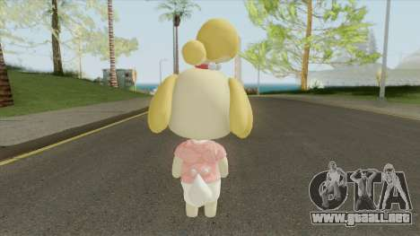Isabelle (New Horizons) para GTA San Andreas