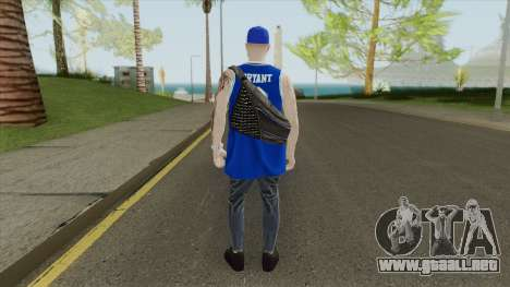Random Male V2 (Los Angeles Lakers) para GTA San Andreas