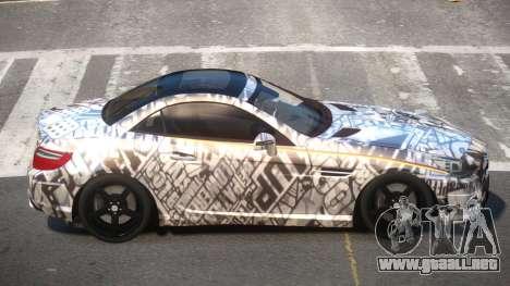 Mercedes SLK55 RG38 PJ1 para GTA 4