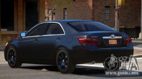 Toyota Camry XV40 para GTA 4