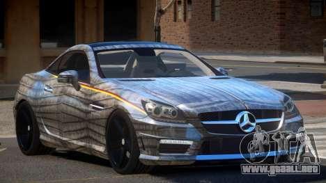 Mercedes SLK55 RG38 PJ6 para GTA 4
