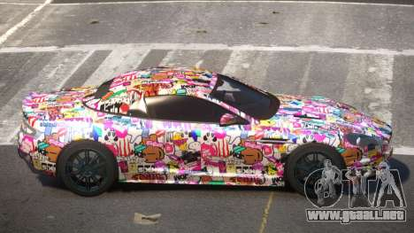 Aston Martin DBS RT PJ6 para GTA 4