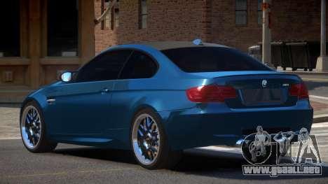 BMW M3 E92 RGB86 para GTA 4