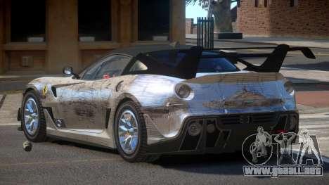 Ferrari 599XX R-Tuning PJ4 para GTA 4