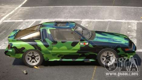 Mitsubishi Starion SR PJ3 para GTA 4