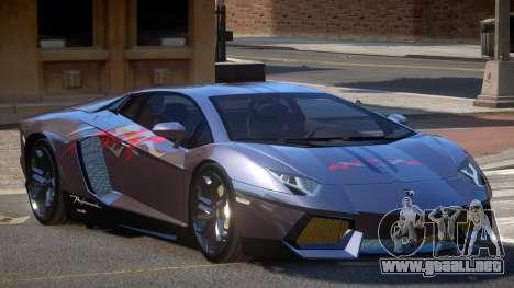 Lamborghini Aventador LP700 RP PJ3 para GTA 4