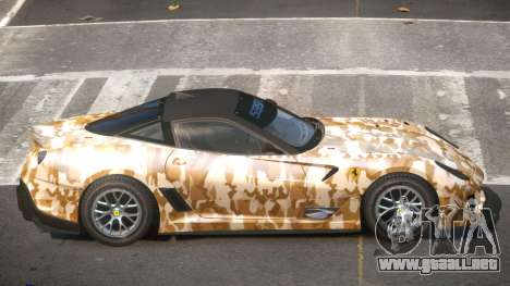 Ferrari 599XX R-Tuning PJ5 para GTA 4