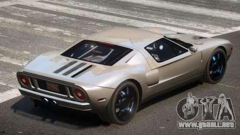 Ford GT S-Tuned para GTA 4