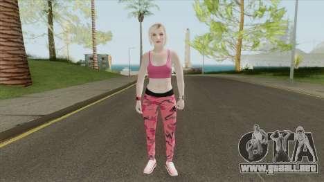 Random Female Skin V4 (Sport Gym) para GTA San Andreas
