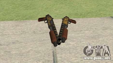 Sawed-Off Shotgun GTA V (Luxury) para GTA San Andreas