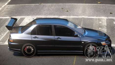 Mitsubishi Lancer S-Tuned para GTA 4