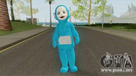 Blue Worker (Slendytubbies 3) para GTA San Andreas