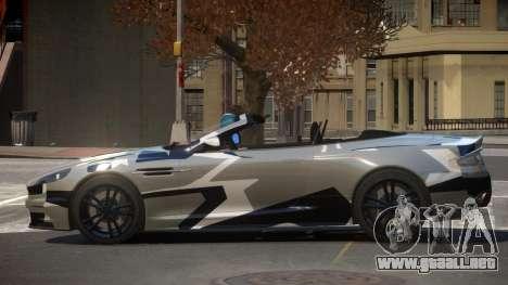 Aston Martin DBS Volante PJ6 para GTA 4
