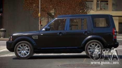 Land Rover Discovery 4 RS para GTA 4