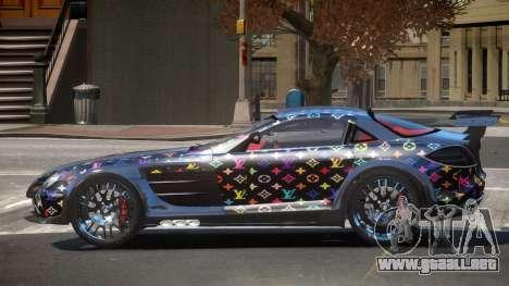 Mercedes Benz SLR H-Style PJ4 para GTA 4