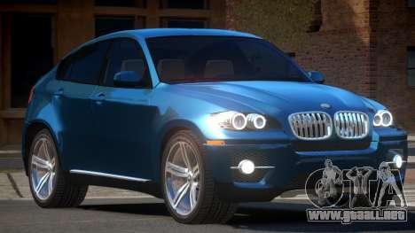 BMW X6 E-Style para GTA 4