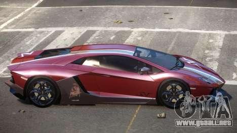 Lamborghini Aventador JRV PJ2 para GTA 4