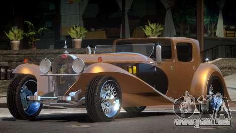 Bugatti Type 41 Old para GTA 4