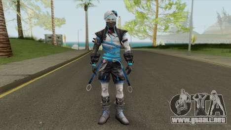 Artic Blue (Free Fire) para GTA San Andreas