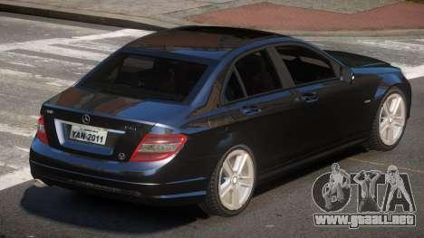 Mercedes Benz C180 ST para GTA 4