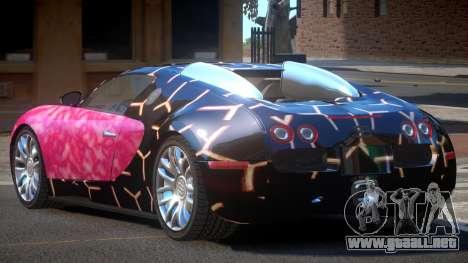 Bugatti Veyron 16.4 RT PJ3 para GTA 4