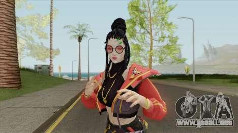 Trap Girl Moco (Free Fire) para GTA San Andreas