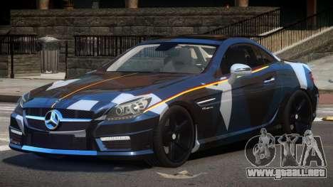 Mercedes SLK55 RG38 PJ2 para GTA 4