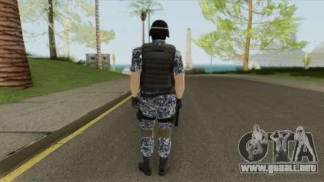 Navy Army Soldier para GTA San Andreas