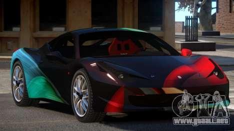 Ferrari 458 Qz PJ5 para GTA 4