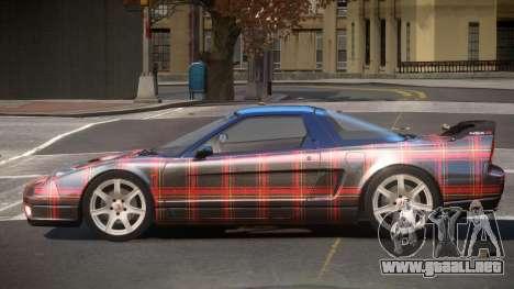 Honda NSX-R LT PJ6 para GTA 4