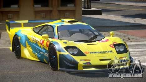 McLaren F1 G-Style PJ1 para GTA 4