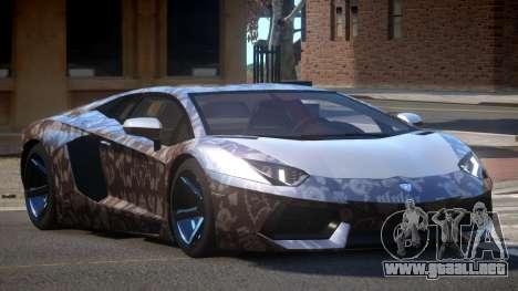 Lamborghini Aventador S-Style PJ3 para GTA 4