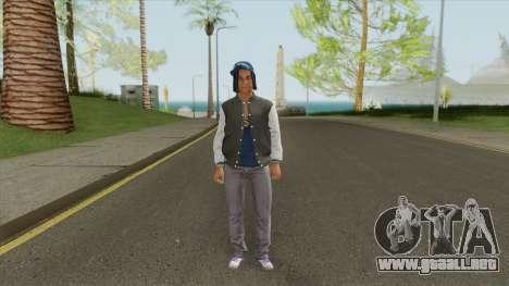 Crips Gang Member V3 para GTA San Andreas