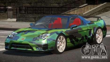 Honda NSX-R LT PJ3 para GTA 4